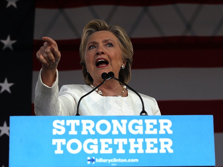 "Hillary Clinton-Trump Supporters ""Dark, Divisive, Dangerous Vision"""