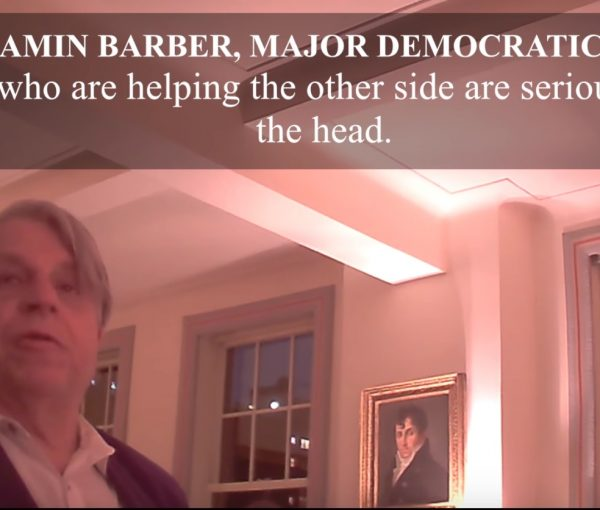 #Veritas: Clinton Pal Benjamin R. Barber Compares Black Repubs with Jews Who Helped Nazis [VIDEO]