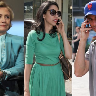 Hillary Thought A Weiner Could Be Trusted With A SECURE Phone [VIDEOS]