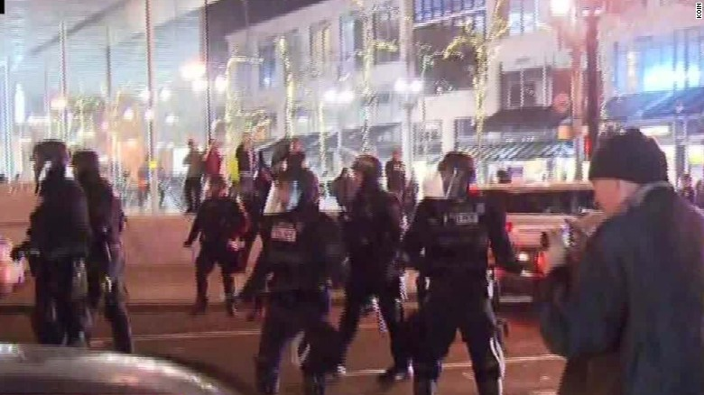 Update: #PortlandProtestors: Day Three Of Their Epic Tantrums [VIDEO]
