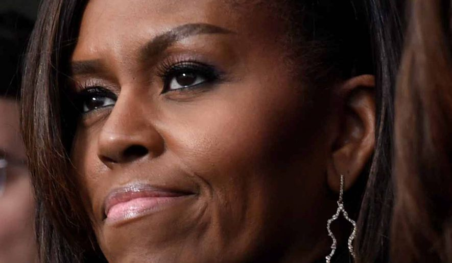 Poor Michelle, she's all out of hope.