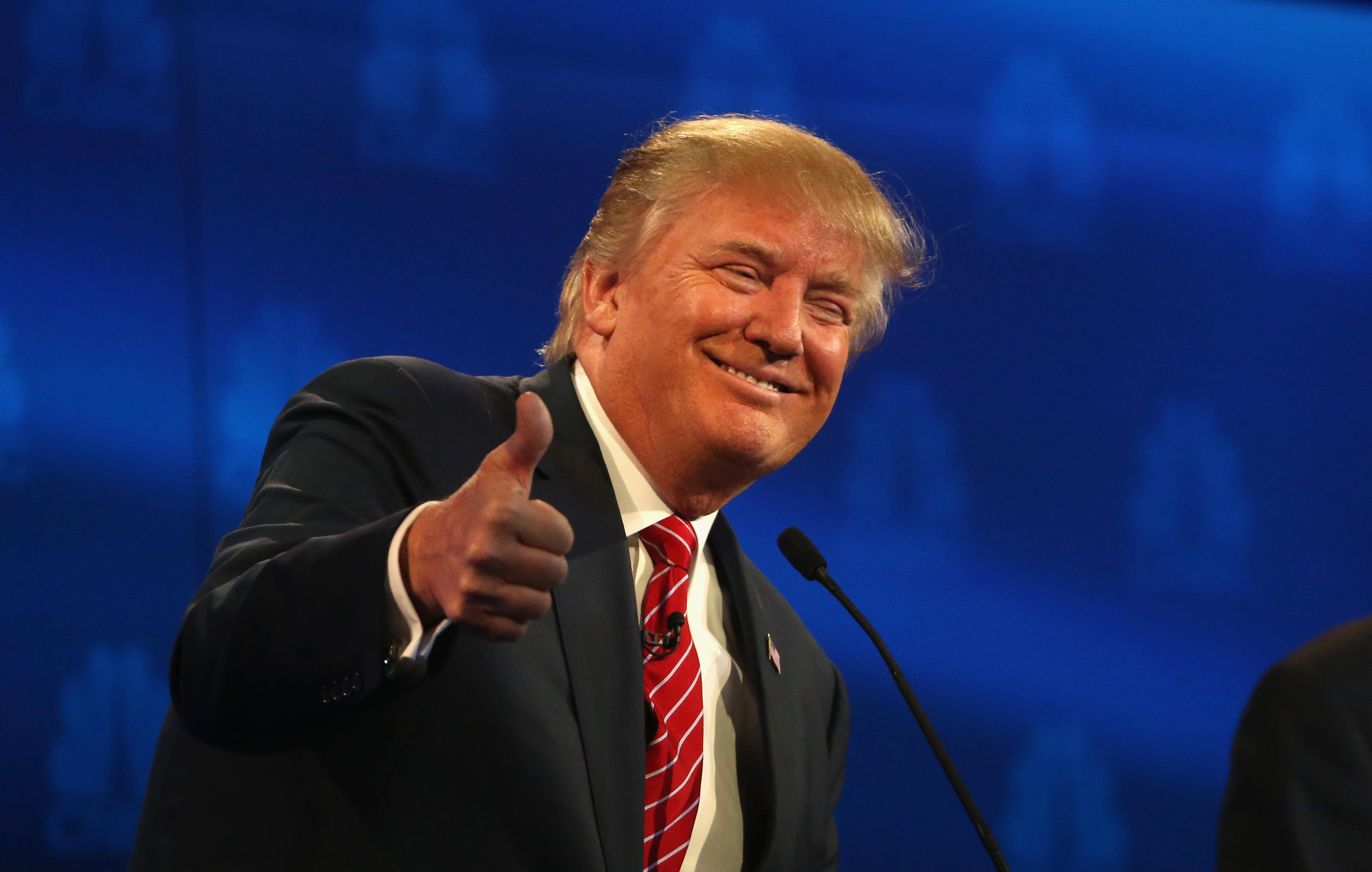 Trump = Love!