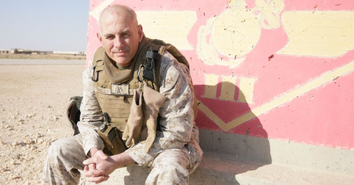 Trump Chooses Retired Marine Gen. John F Kelly For Department of Homeland Security [VIDEOS]