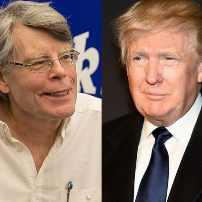 Writer Stephen King Deplores Trump's