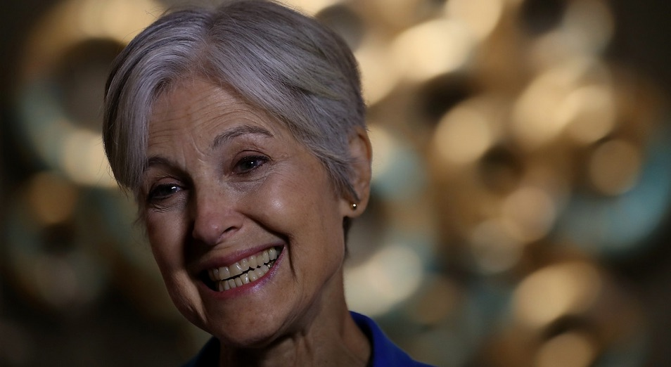 "She's Back: Green Partier Jill Stein Wants DOJ to Investigate ""Integrity"" of Electoral System"
