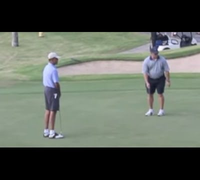Crisis And Terror In Europe? Time To Golf For Obama! [VIDEO]