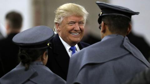 There Were Two Winners at the Army-Navy Game: Army and Donald Trump [VIDEOS]