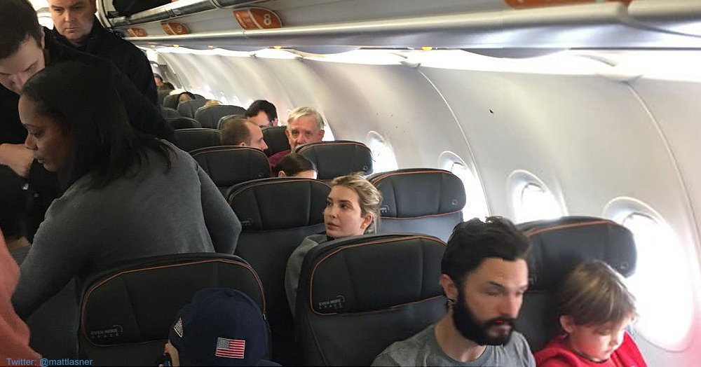 Peace on Earth? Not if You're Ivanka Trump and Kids on a JetBlue Flight [VIDEO]