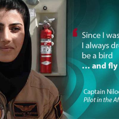 Niloofar Rahmani, First Afghani Female Pilot, Applies For Asylum In The United States [VIDEOS]