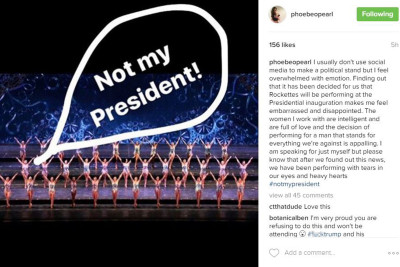 #Rockette Takes Takes To Instagram To Complain About Performance At #Trump Inauguration  [VIDEO]