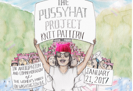 Feminists:  We hate Trump for objectifying women so lets protest wearing a pussyhat?