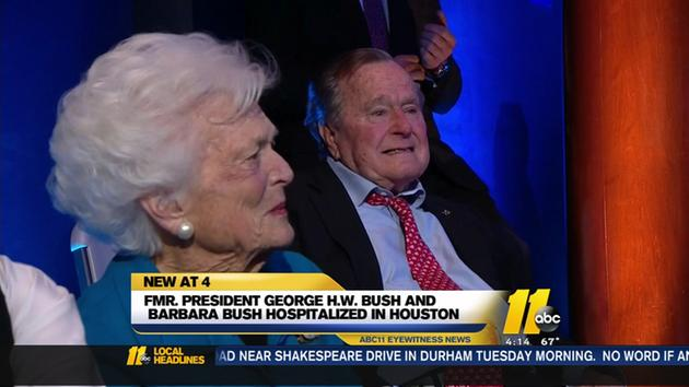 Hospitalized George H. W. Bush Keeps It Classy, Writes Trump [VIDEO]
