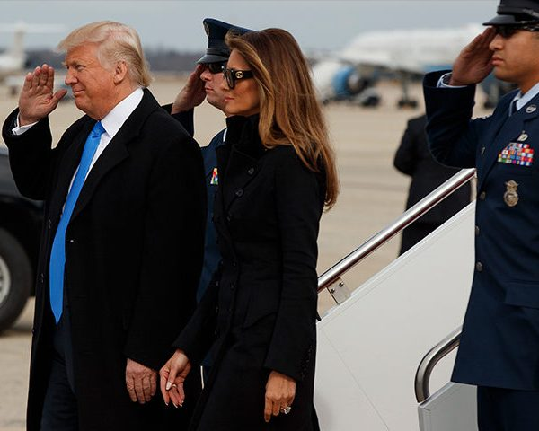 #Inauguration2017: Trump Family Arrival In D.C. And Wreath-Laying Ceremony At Arlington [VIDEO]