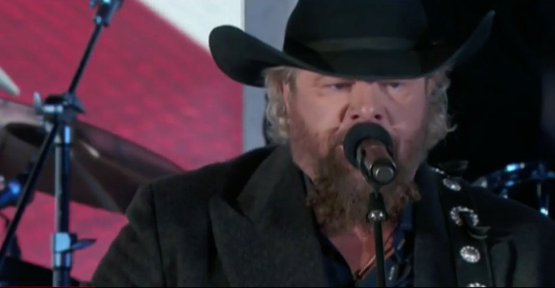 Toby Keith Sang 'American Soldier' at the #Inauguration and It Will Make You Cry [VIDEO]