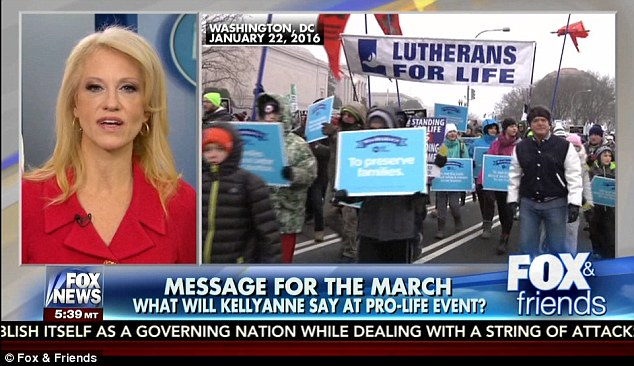 Kellyanne Conway and Mike Pence Speak at March for Life [VIDEO]