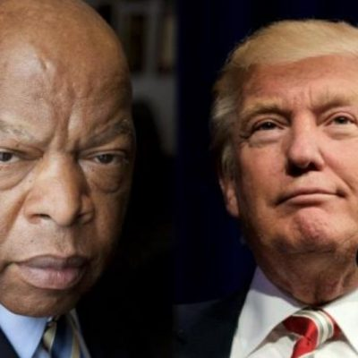 Rep. John Lewis Has a History of Labeling Republican Presidents-Elect