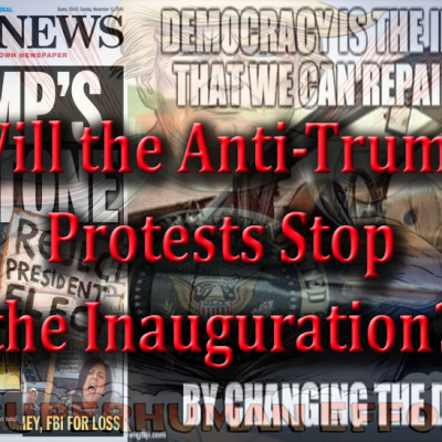 The Anti-Inauguration Tantrum of the Left