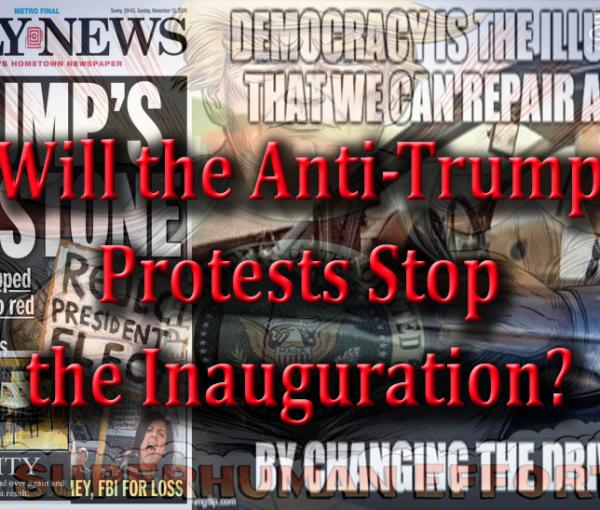The Anti-Inauguration Tantrum of the Left