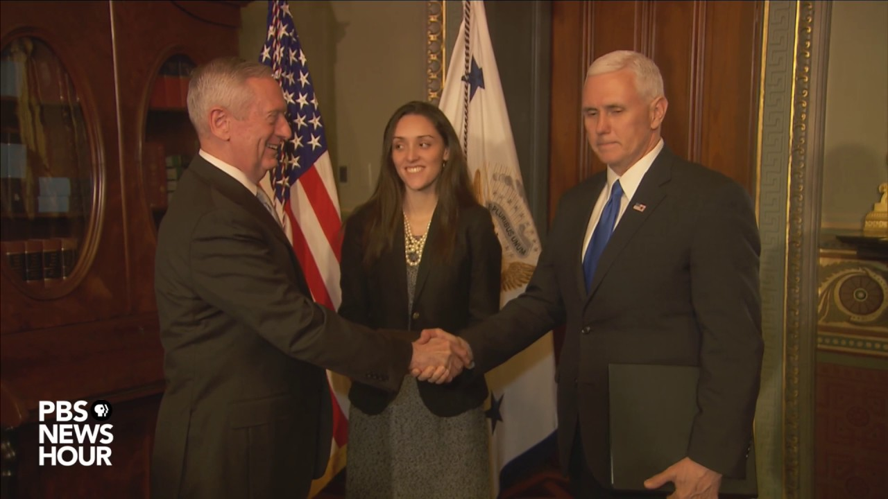 Cabinet Picks Mattis and Kelly Are Confirmed And Sworn In [VIDEO]
