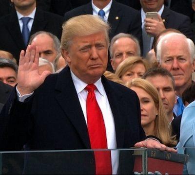 #Inauguration: The Speech Says