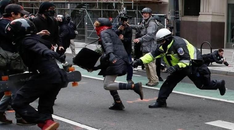 #Inauguration: Leftwing Terrorists Descend on Washington DC [VIDEO]