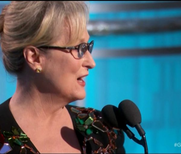 Meryl Streep Continues The Hollywood Trumper Tantrum [VIDEO]
