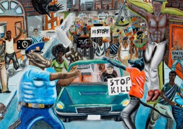 Congressman Duncan Hunter Removes Painting Depicting Police As Pigs [VIDEO]