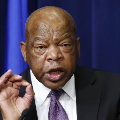 "Democrat Congressman John Lewis says Trump is not the ""legitimate president"" and won't attend inauguration"