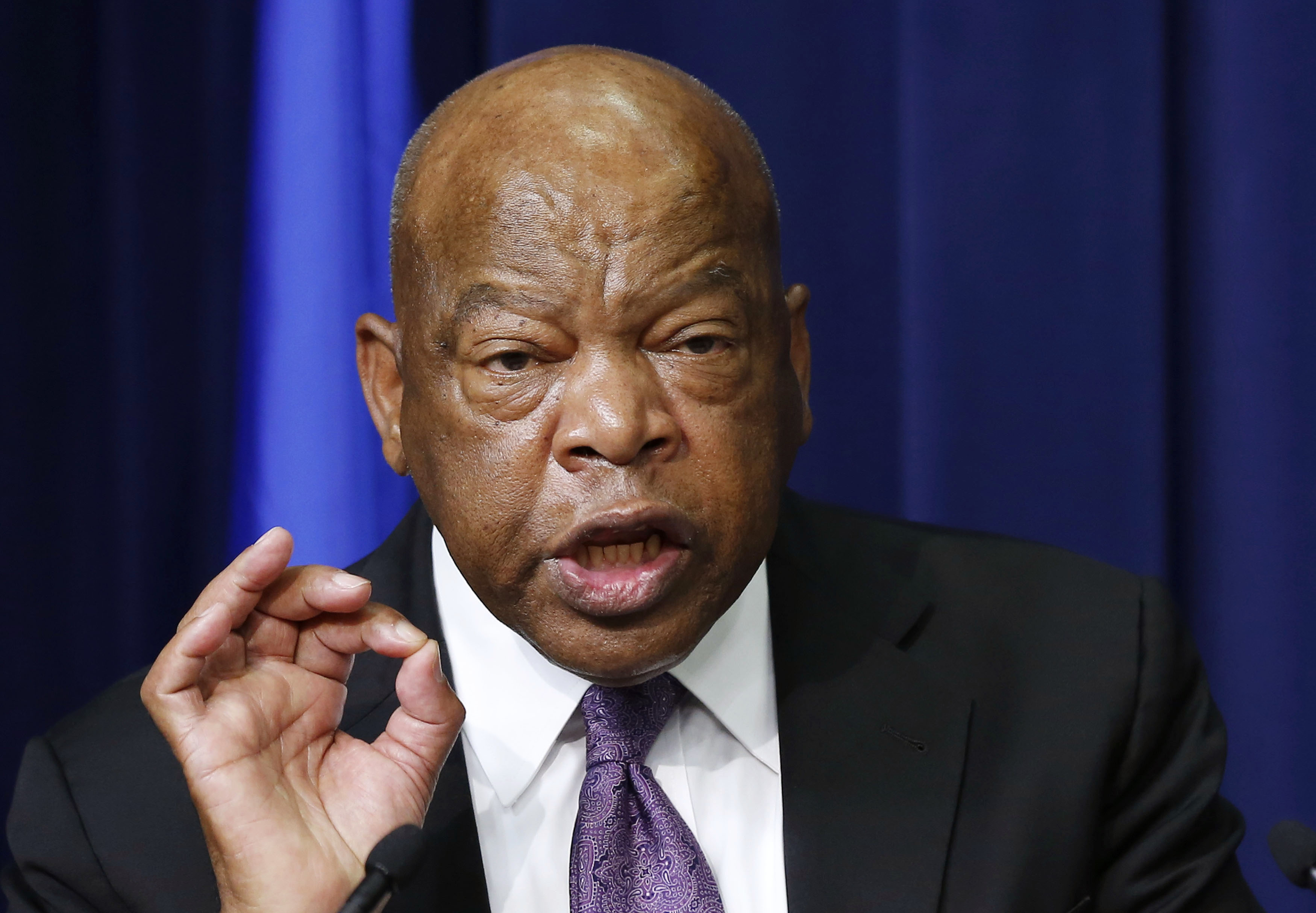 "Democrat Congressman John Lewis says Trump is not the ""legitimate president"" and won't attend inauguration"