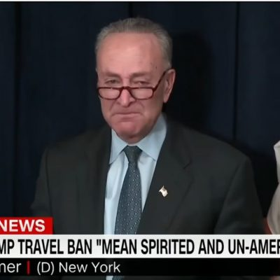 Fake Tears of Senator Chuck Schumer [VIDEO]