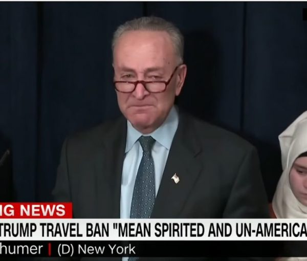 Fake Tears of Senator Chuck Schumer [VIDEO]