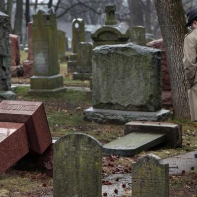 Wave Of Hate: Historic Jewish Cemetery Desecrated And #JCC Centers Receive MORE Bomb Threats[VIDEO]