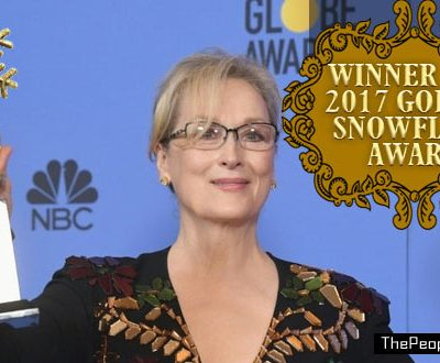 #Oscars: We Now Present, The Snowflake Awards!