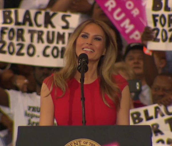 How to Drive the Left Crazy: Take Melania Trump and Add the Lord's Prayer [VIDEO]