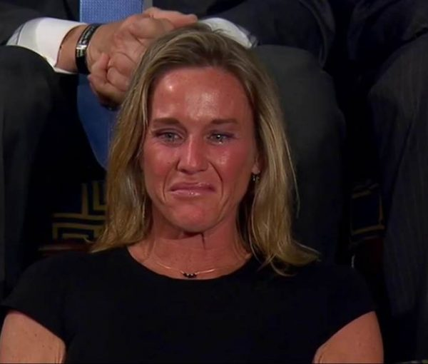 Not a Dry Eye: Trump Pays Tribute to SEAL Ryan Owens, Honors Widow Carryn [VIDEO]