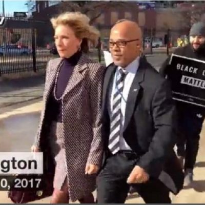 Betsy DeVos Runs Teachers Union Gauntlet in Washington DC