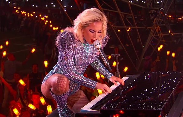 #SuperBowl2017: Gaga Kept Her Poker Face Weeks Ahead of Halftime Show and Delivered a WIN!