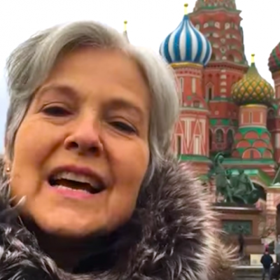 Jill Stein and the Left are more cozy with Russia than you know
