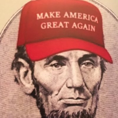 Chelsea Clinton Tweets About Abe Lincoln in a MAGA Cap