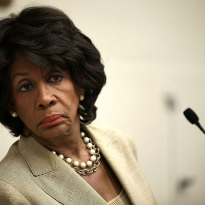 Maxine Waters Wants You To Know That She's A Bigger Patriot Than You