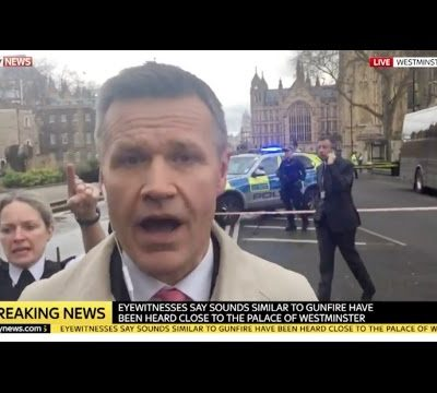 Terror Attack In London At #Westminster [VIDEO]