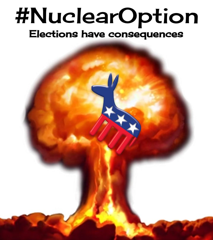 #NuclearOption: The Democrats Throw A Tantrum After It's Invoked [VIDEO]