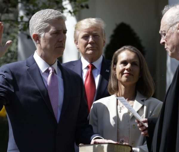 #SCOTUS: Neil Gorsuch Officially Sworn In As 113th Supreme Court Justice [VIDEO]