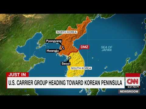 Cold War Heating Up?  US Sending Strike Group Back To Korean Peninsula [VIDEO]
