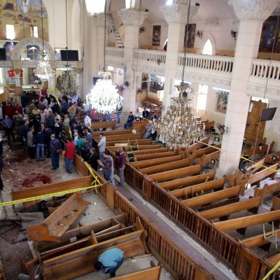 Palm Sunday Terror: Explosions Rock Two Christian Church in Egypt [VIDEO]