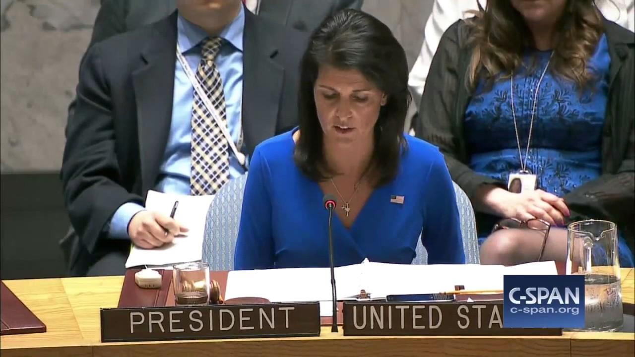 New Ambassador Nikki Haley Slaps UN Over Syria [VIDEO]