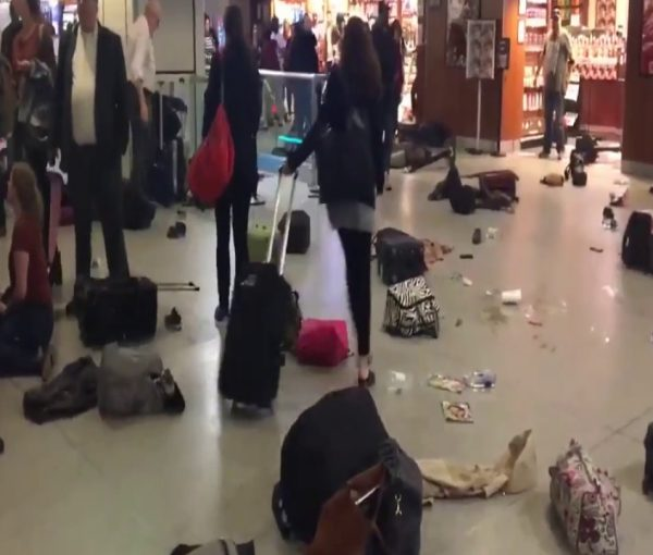 #PennStation Stampede Breaks Out During Friday Evening Commute [VIDEO]