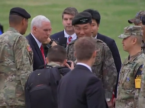 VP Pence Visits Korean DMZ, Are China and Russia Going To Act? [VIDEO]