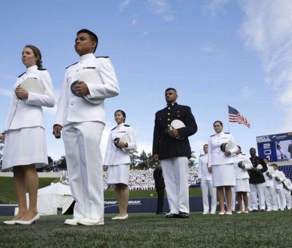 VP Pence Addresses Appreciative Crowd at Naval Academy Graduation [VIDEO]