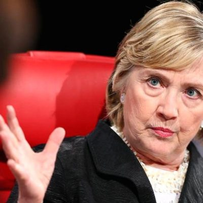 Hillary Clinton Just Can't Let It Go [VIDEO]
